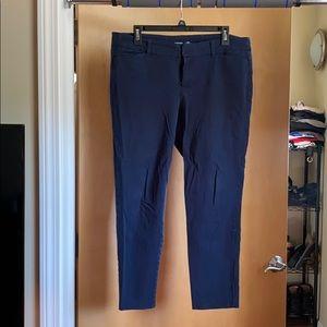 Old navy pixie pants navy blue